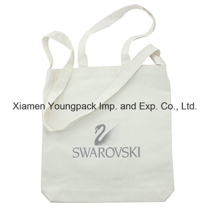 Promotional Custom Printed Eco Friendly Reusable Calico Cloth Carry Bag 100% Natural Organic Cotton Shopping Tote Canvas Bags