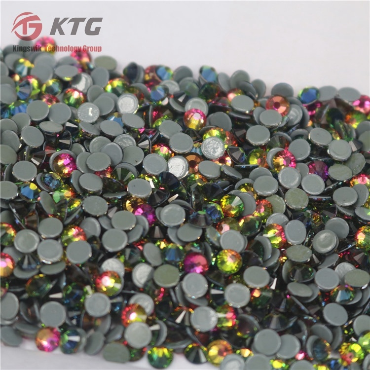 Top Quality Ss20 2088 Cut Facets Rainbow Hot Fix Rhinestones for Women Dresses