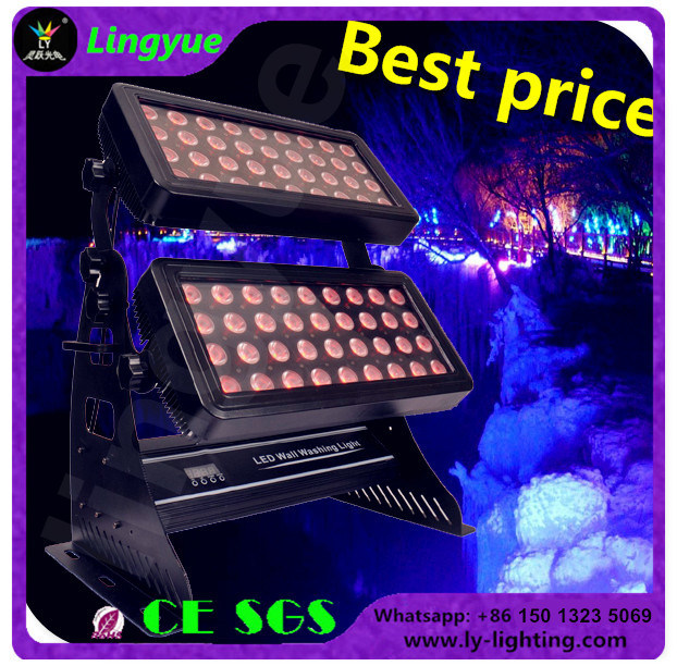Outdoor 72X10W RGBW 4in1 City Color LED Wall Washer