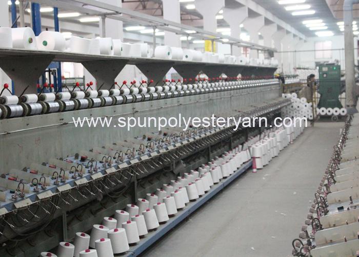 100% Virgin Polyester Spun Yarn From Hubei