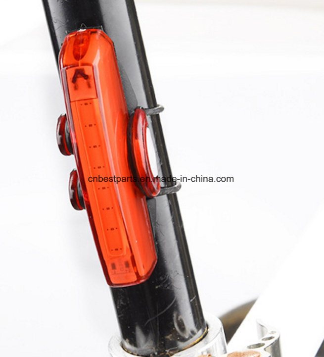 COB Rechargeable Bicycle Front Light Tail Light