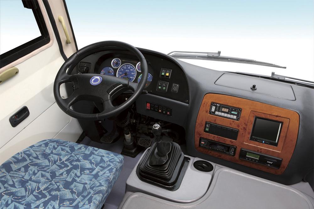 Tourist Passenger Minibus Price of New Bus Slk6750AC
