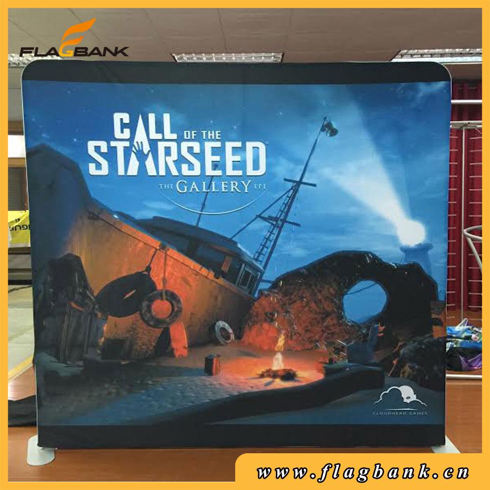 Advertising Printed Pop up Display /Tension Fabric Display