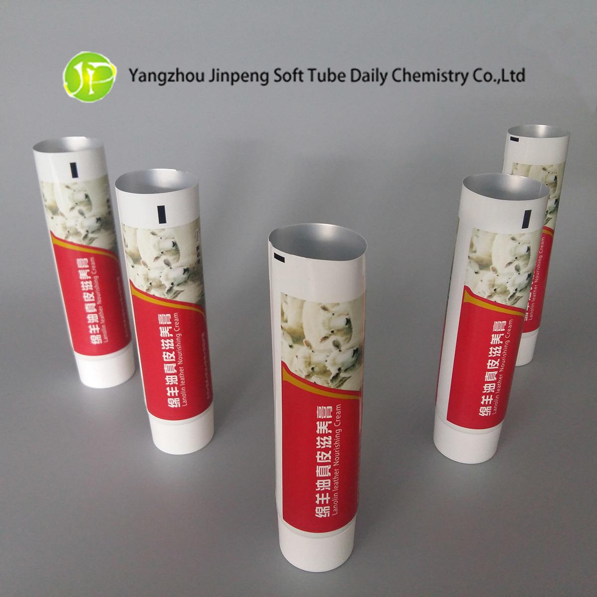 Aluminium&Plastic Cosmetic Packaging Tubes Leather Nourishing Cream Tubes Abl Tubes Pbl Tubes