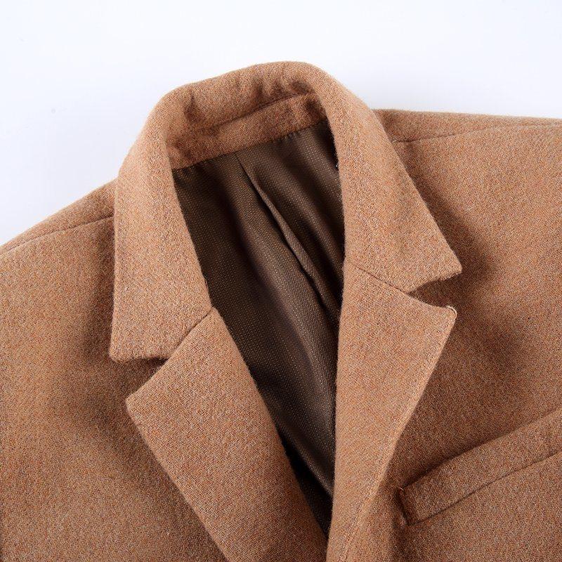 Business Suit Tweed Coat