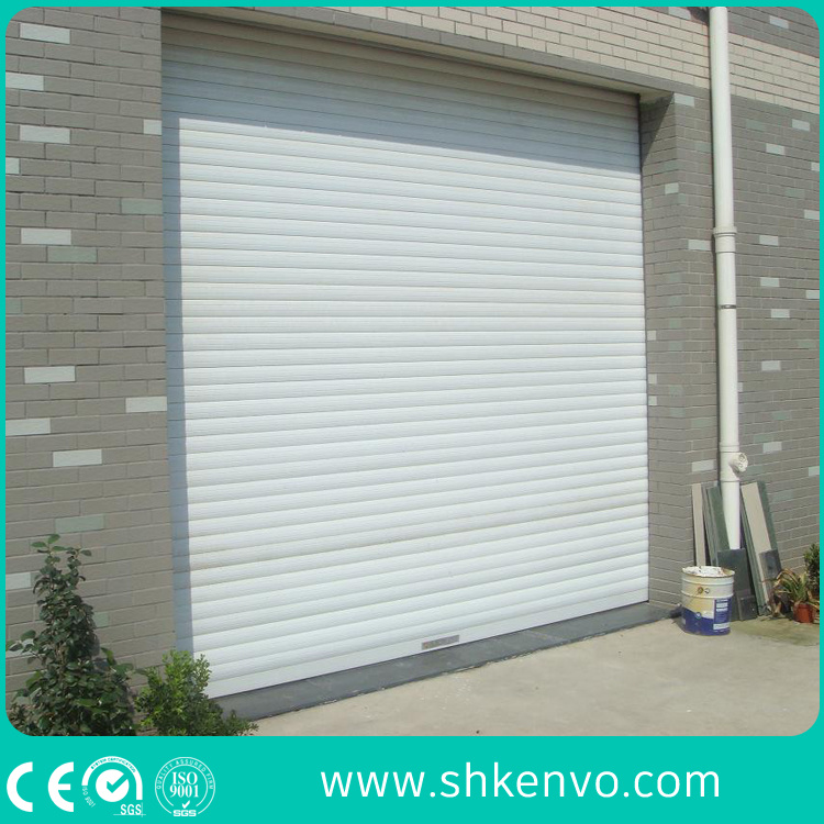 Ce Certified Thermal Insulated Galvanized Steel Automatic Motorized Roller Shutter