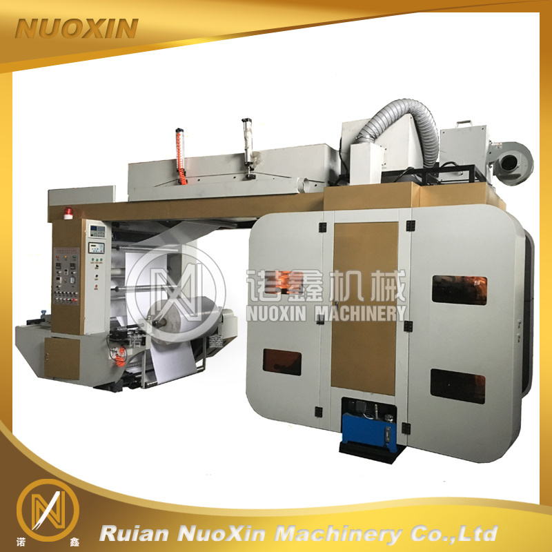 Nuoxin Brand 4 Colour Flexographic Printing Machine for Flexible Package