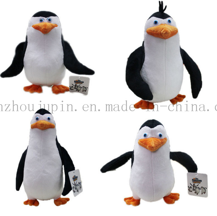 Custom Promotional Penguin Plush Stuffed Soft Kids Toy for Decoration