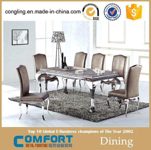 Modern Model Marble Dining Table Design Furniture