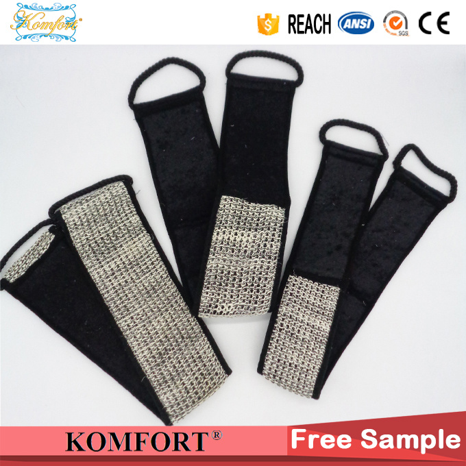 JM406E Bamboo Charcoal Sisal Bath Sponge Belt Strap Body Brush