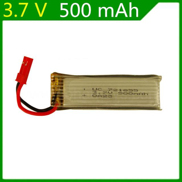 3.7 V 500 mAh Remote Control Plane 3.7 V 500 mAh Lithium Battery Jst Plug 721855