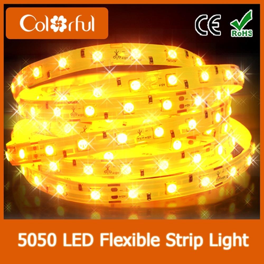 Ce RoHS High Brightness Waterproof SMD5050 DC12V LED Strip