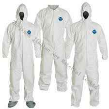 Eco-Friendly&Anti-Bacterial Disposable Microporous S. F Nonwoven Fabric Protective Coverall