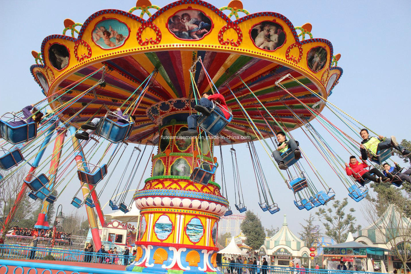 Ftfy Super Flying Chairs 2016 Hottest Amusement Park Rides
