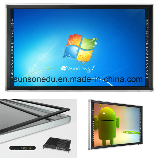 Government Equipment Educational Equipment Large Size Multi Touch LCD TV Touch Screen