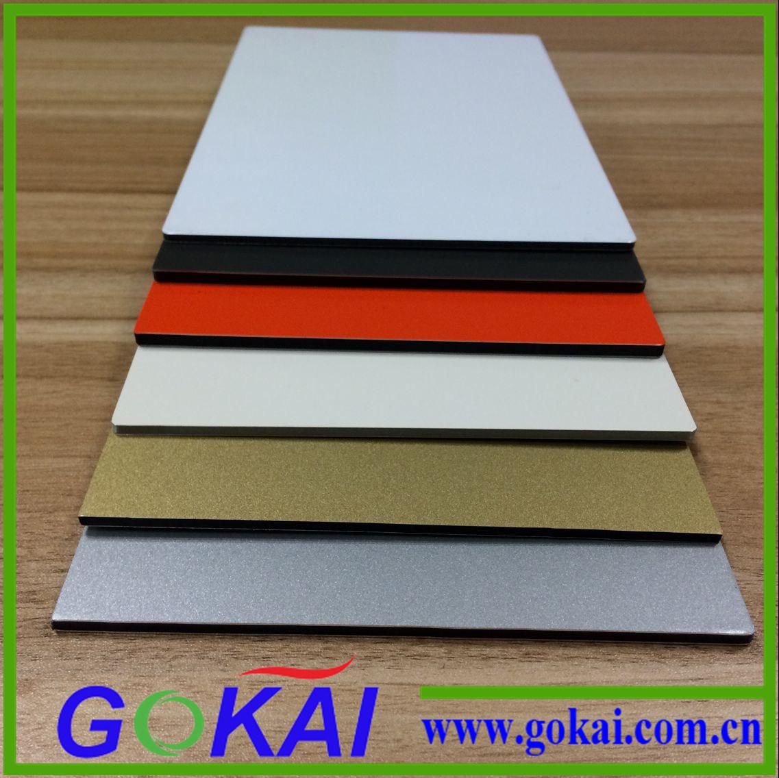 PE Core Aluminum Composite Panel 3mm 4mm