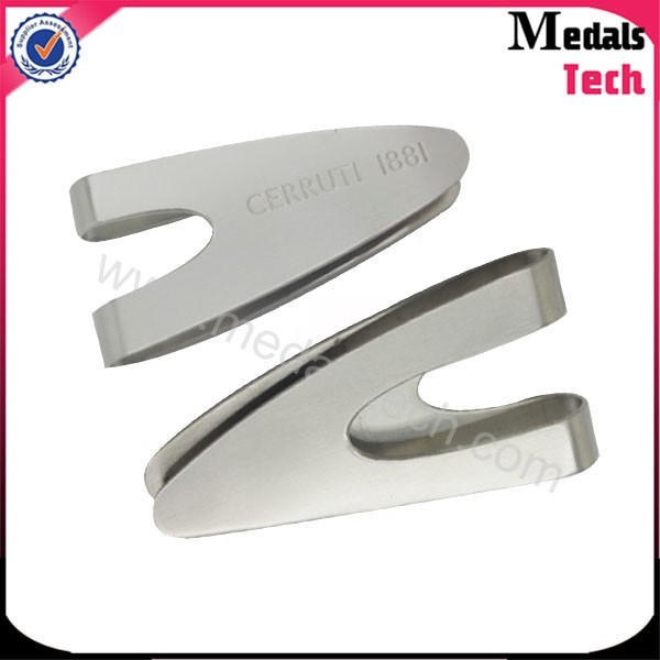Custom Metal High Polish Blank Stainless Steel Money Clips