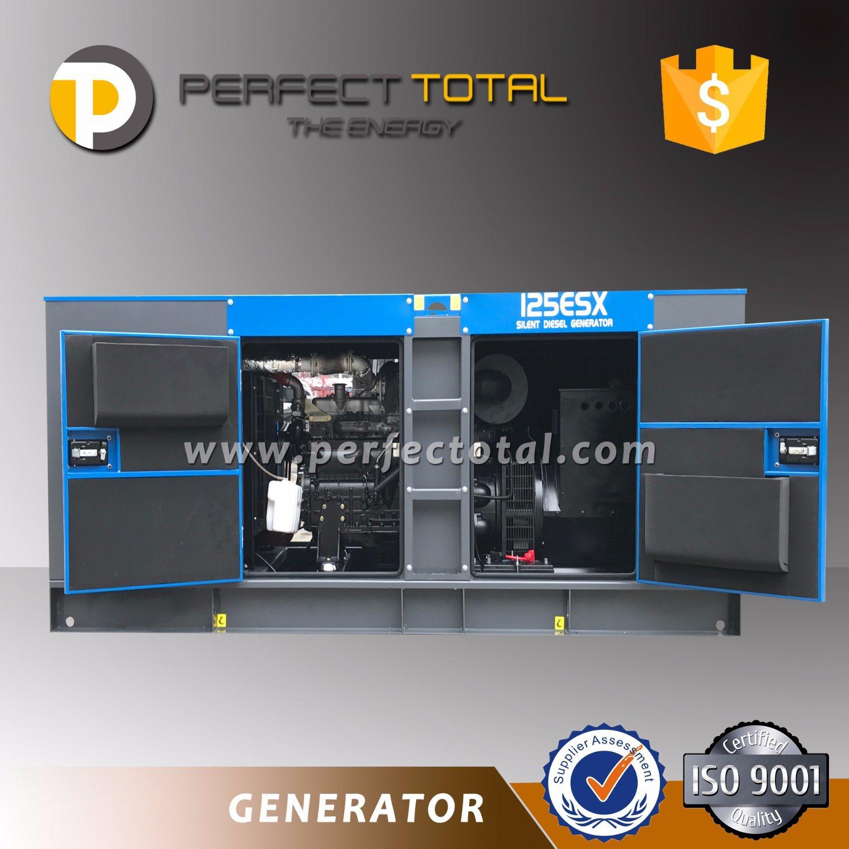 100kVA or 131kVA Cummins Super Silent Diesel Generator Set