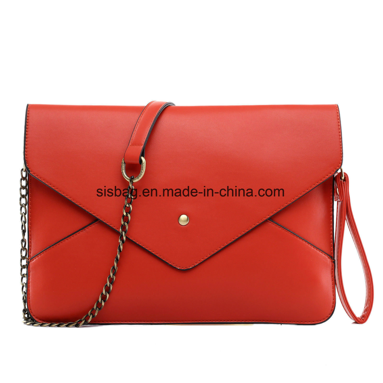 Women Party Bag Envelope Evening Bag PU Clutch Purse Bag