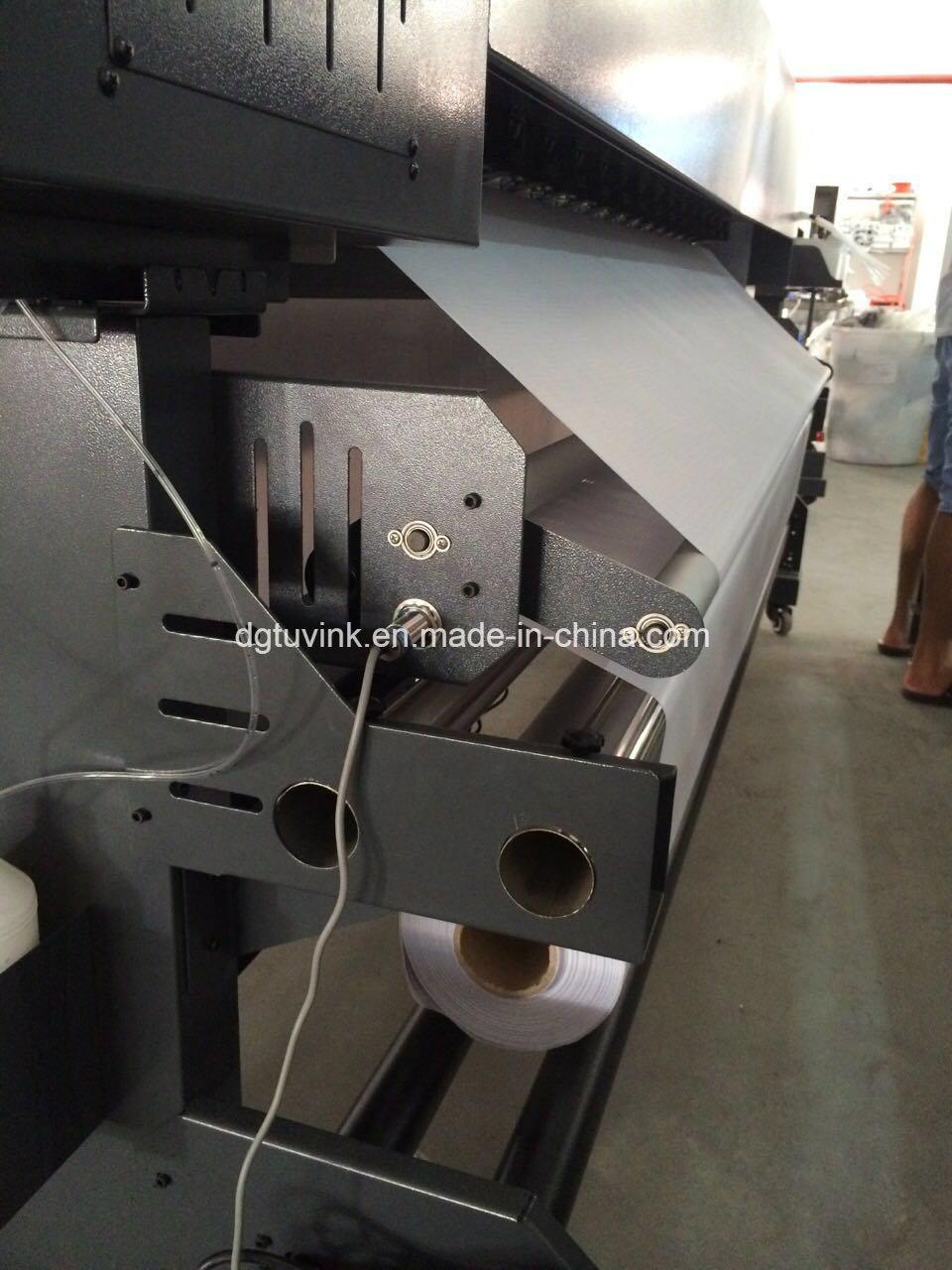 2.2m UV Printer Two Heads Dx5 Dx7 Indoor Outdoor Flex Banner Advertising Printing Machine