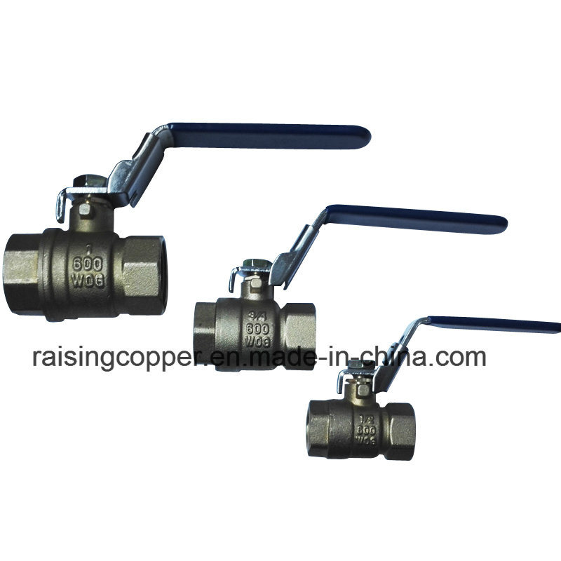 Brass Ball Valve with Lockable Device