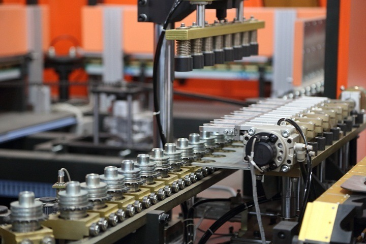 1L Plastic Pet Water Bottle Blow Molding Stretch Making Machine