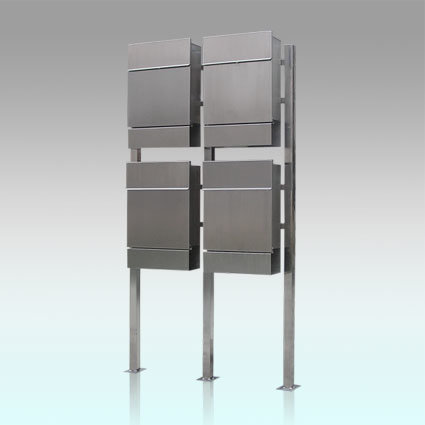 Gh-3329s12u4 Standing Stainless Steel Mail Boxes