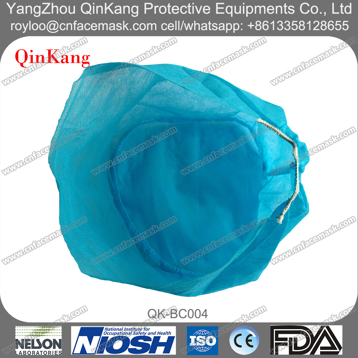 Disposable Elastic Medical Products Surgical Cap
