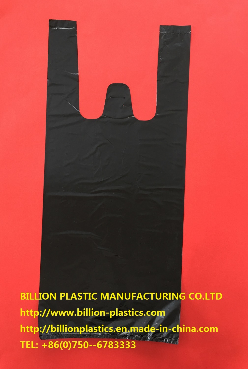 Garbage Bag Rubbish Bag Trash Can Liner Garbage Bag Rubbish Bag T-Shirt Bag Carrier Bag Shopping Bag Polybag Gusset Bag