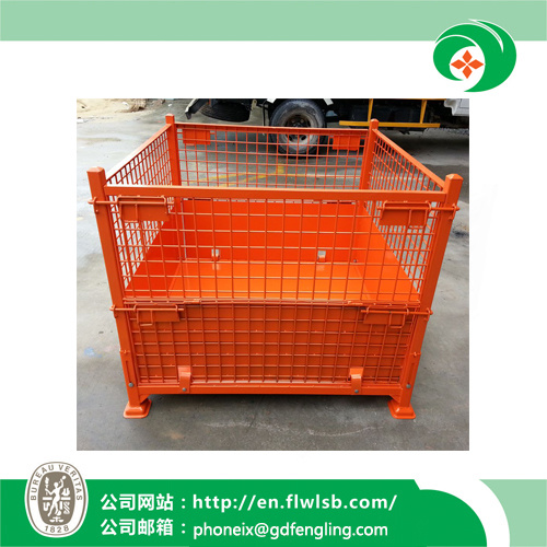 Steel Logistics Cage for Warehouse Storage with Ce (FL-52)
