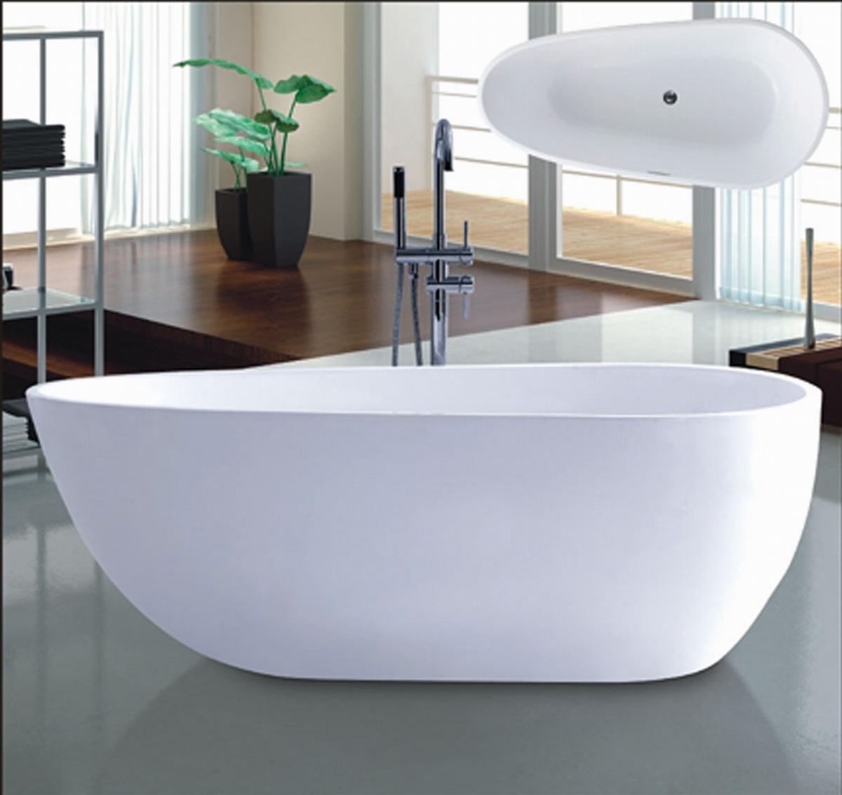 New 1700mm Ellipse Freestanding Bathtub SPA for Villa (AT-6181)