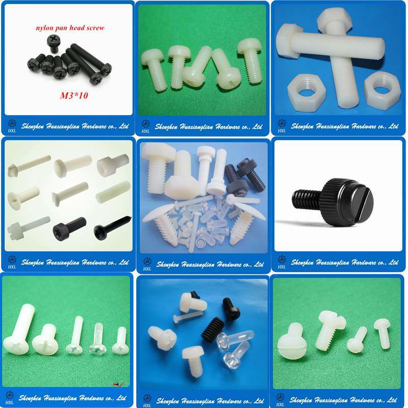 Different Types Nylon Plastic Insulation Fasteners