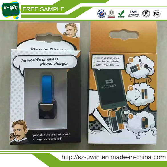 Smallest Portable Mobile Phone Charger for Christmas Gifts