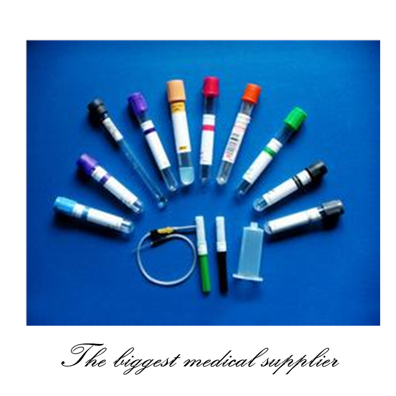 Disposable Medical Vacuum Blood Collection Tube with Ce