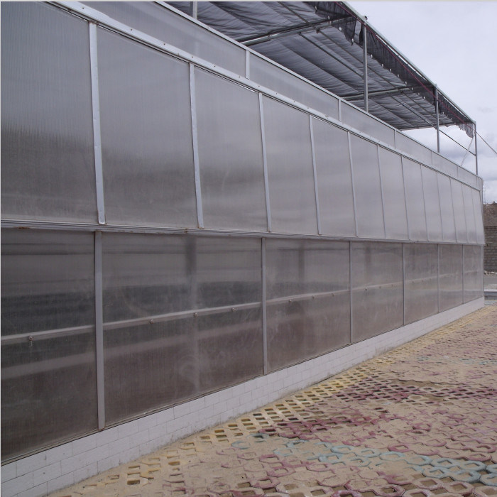 Agriculture and Commercial Polycarbonate Greenhouse Made in China