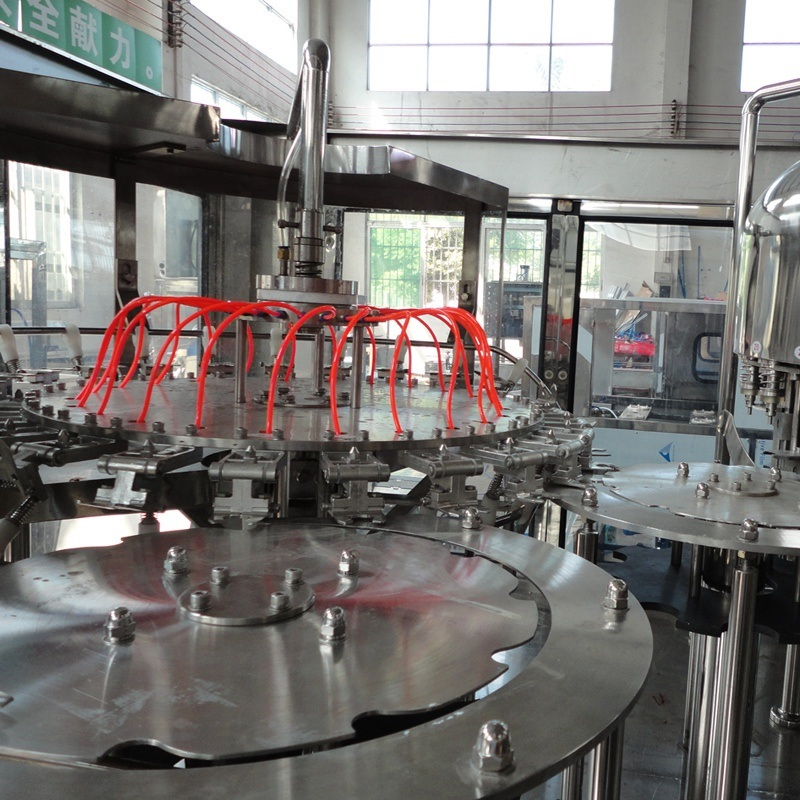 Full Automatic Drinking Mineral Water Filling Machine / Bottling Plant
