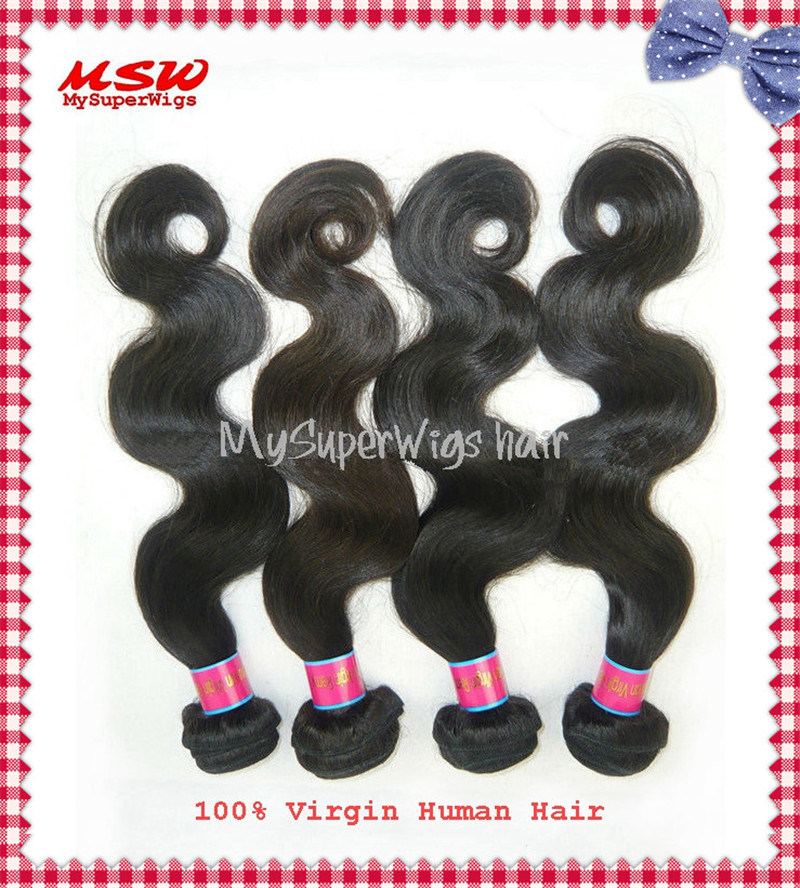 Brazilian Virgin Hair Silky Straight Human Hair Bundles