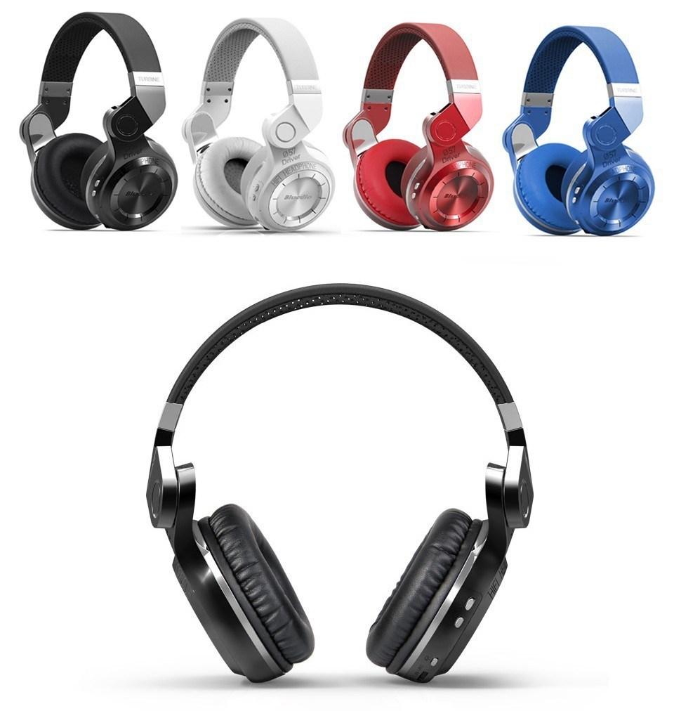 Hifi Wireless Stereo Bluetooth 4.1 Noise Cancelling Headphone with Mic