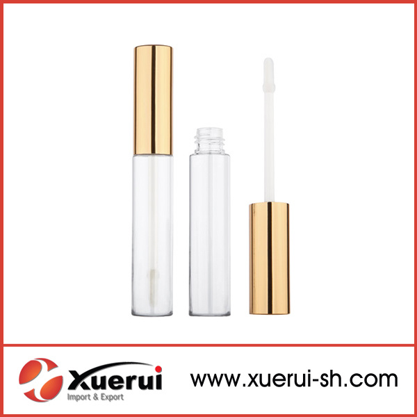 Round Empy Makeup Plastic Lip Gloss Tubes