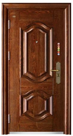 Steel Door Single Door Sunscreen Painting Exterior Door (FD-G151)