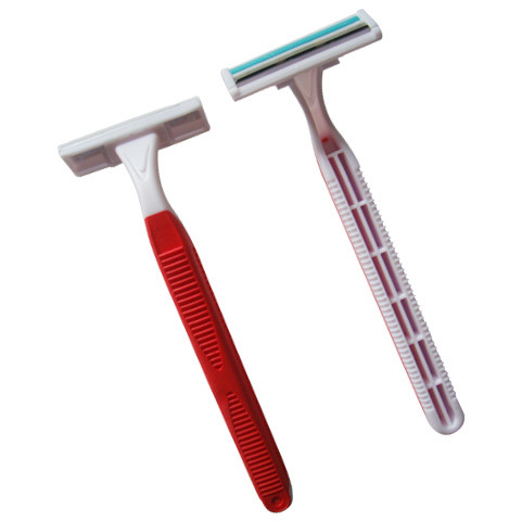 High Quality Twin Blade Disposable Razor (KD-P2007L)