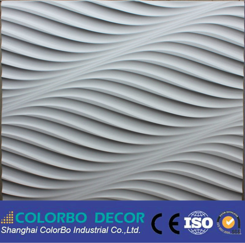 Good Decorative Wooden Wall Panel Boards 3D