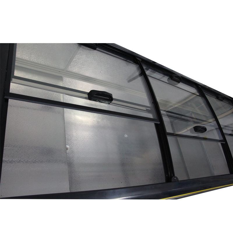 800L Showcase Display Sliding Door Island Freezer for Supermarket