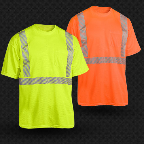 High Visibility Reflective T-Shirt with ANSI107 (T-002)