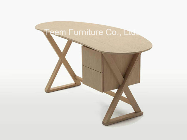 Wood Desk Modern Style for House Reading Room Furniture