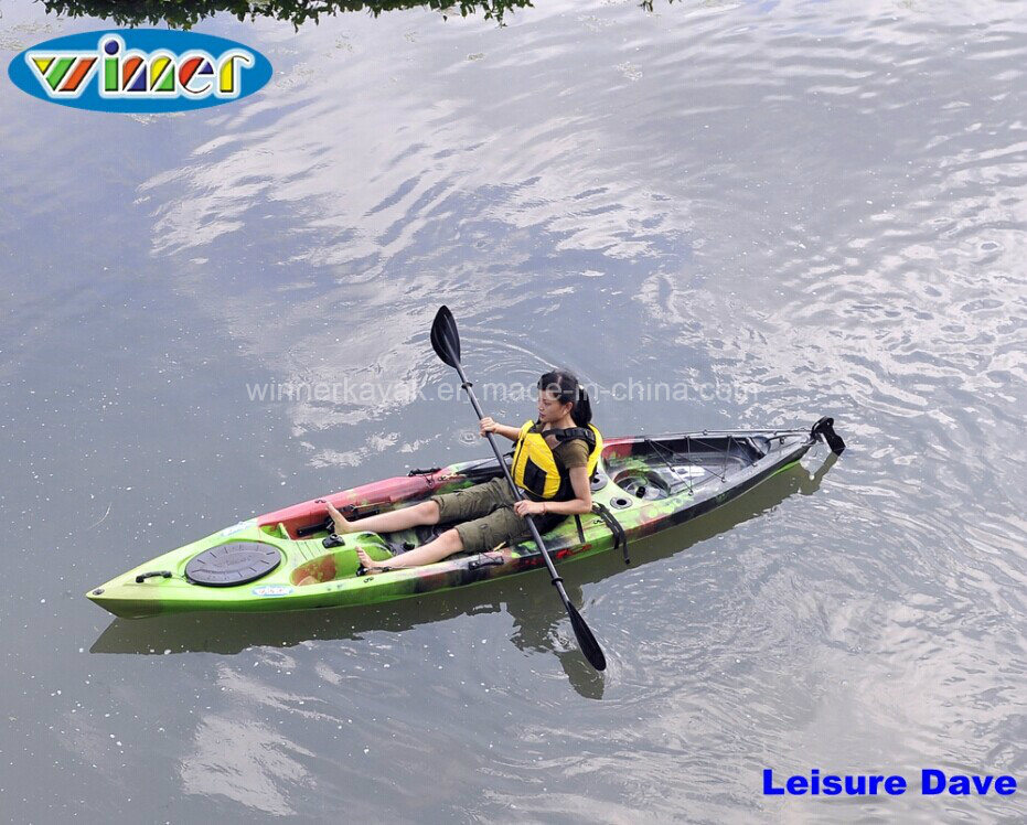 China single sit on top plastic fishing kayak photos for Sit on vs sit in kayak for fishing