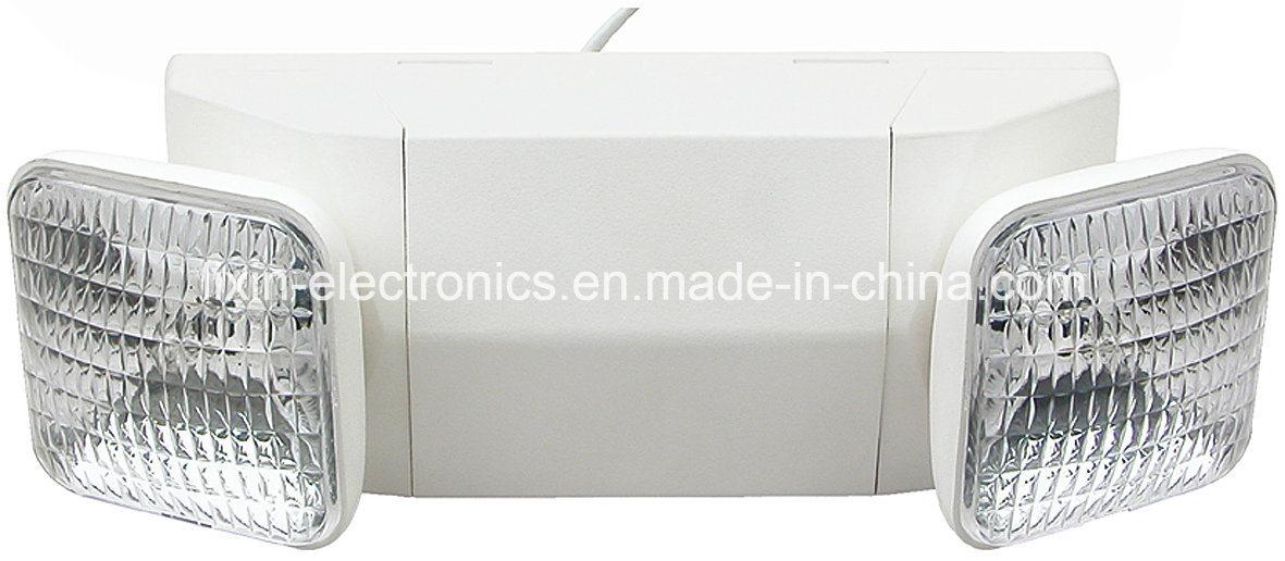Multi-Angle Dual Heads Lead-Acid Battery UL Listed Emergency Light