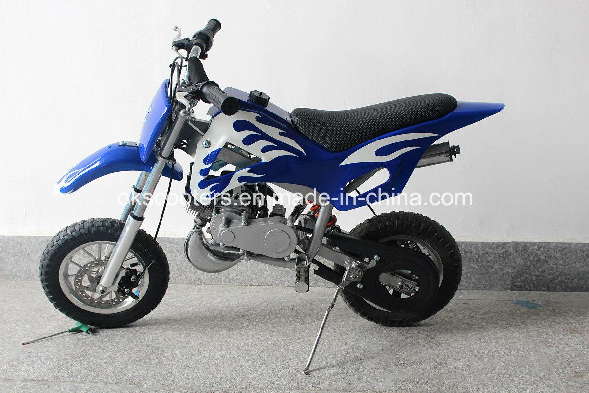 49cc Dirt Bike, Motorcycle 50cc off Road Scooter 2 Stroke Kids Dirt Bike