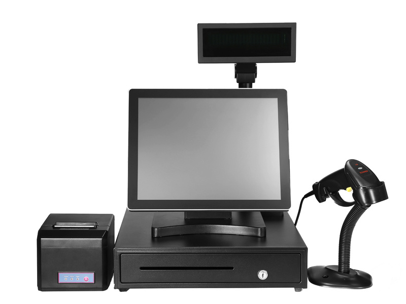 """15"""" All-in-One POS PC Terminal for Restaurant/Pizza Shop/Supermarket"""