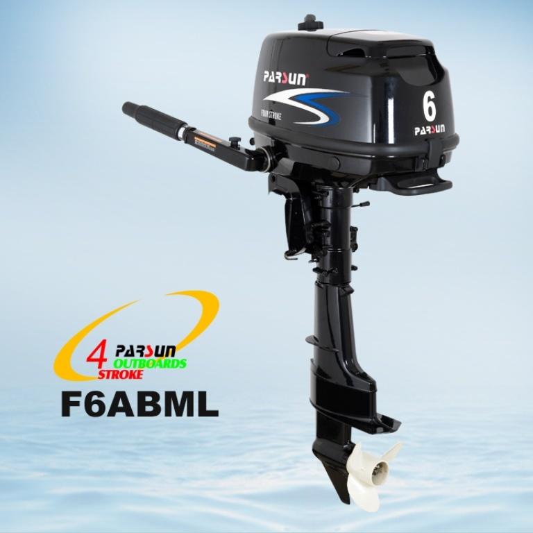 6HP 4-Stroke Outboard Motor